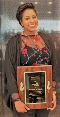DeVonna Gatlin, Yates Scholar and Chemistry PhD student.